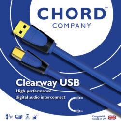 NEW! Chord Clearway Digital USB
